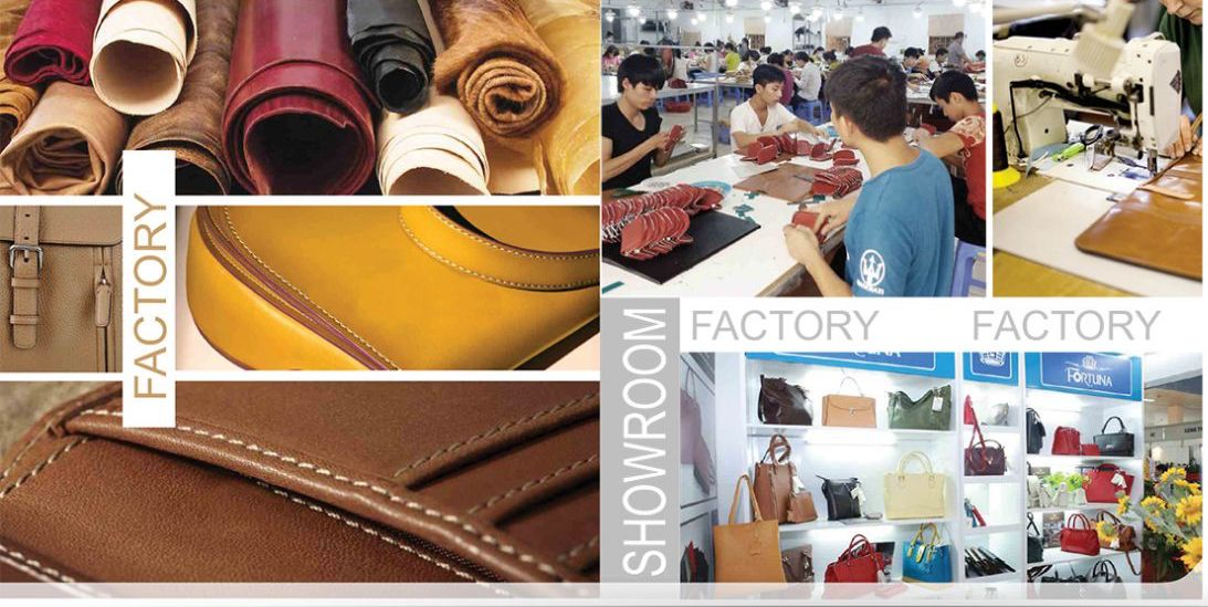 Units factory leather goods products